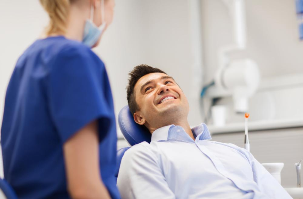 Dentist Patient | Dental Crowns Glendale WI