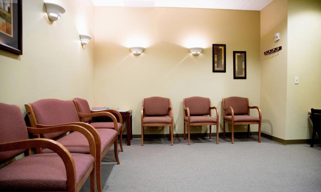 Our Patient Relaxation Area